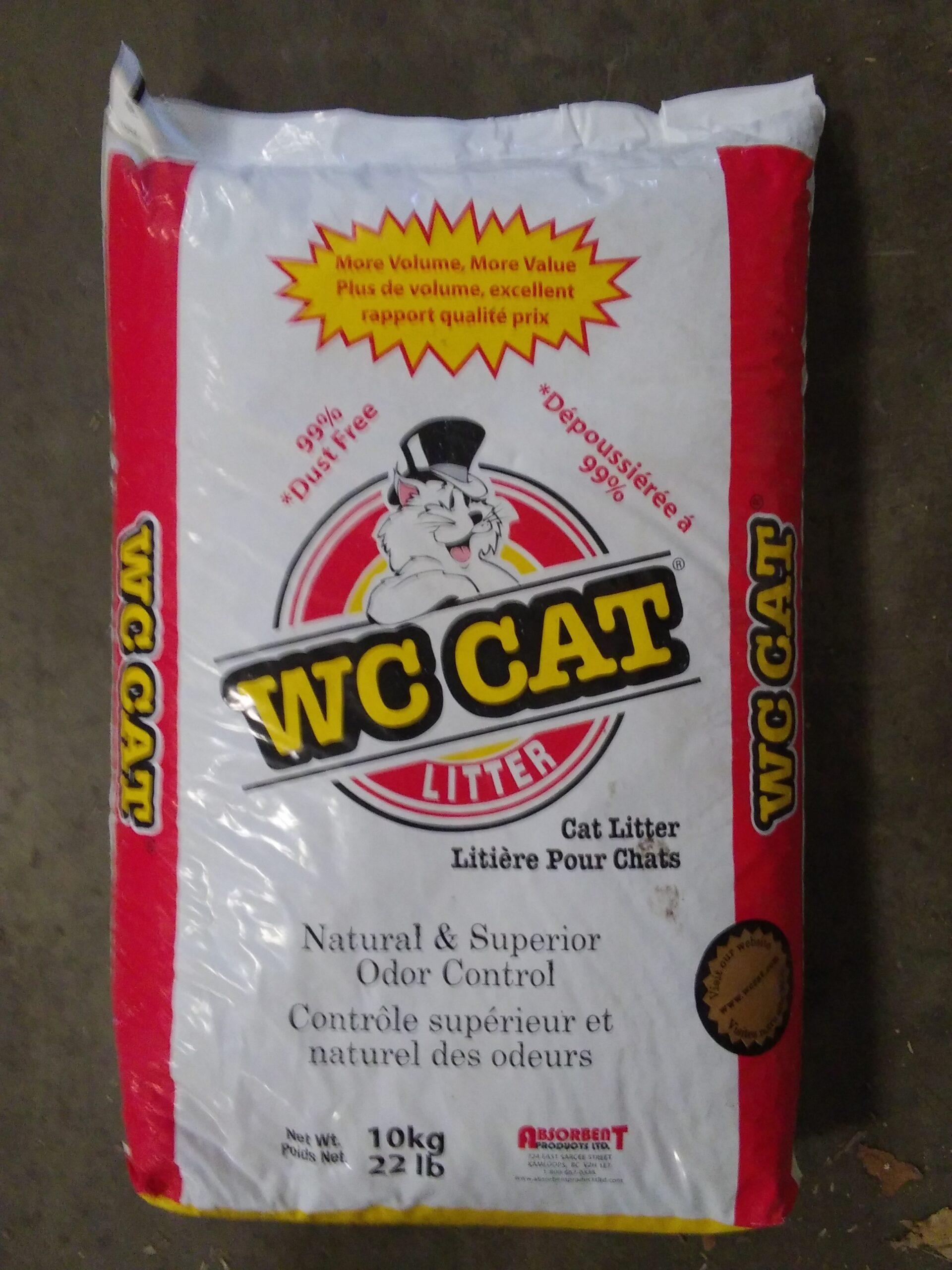 22 Wc Cat Litter Concentrates Inc
